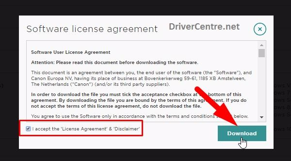 Step 3 - Accept the License Agreement & Disclaimer